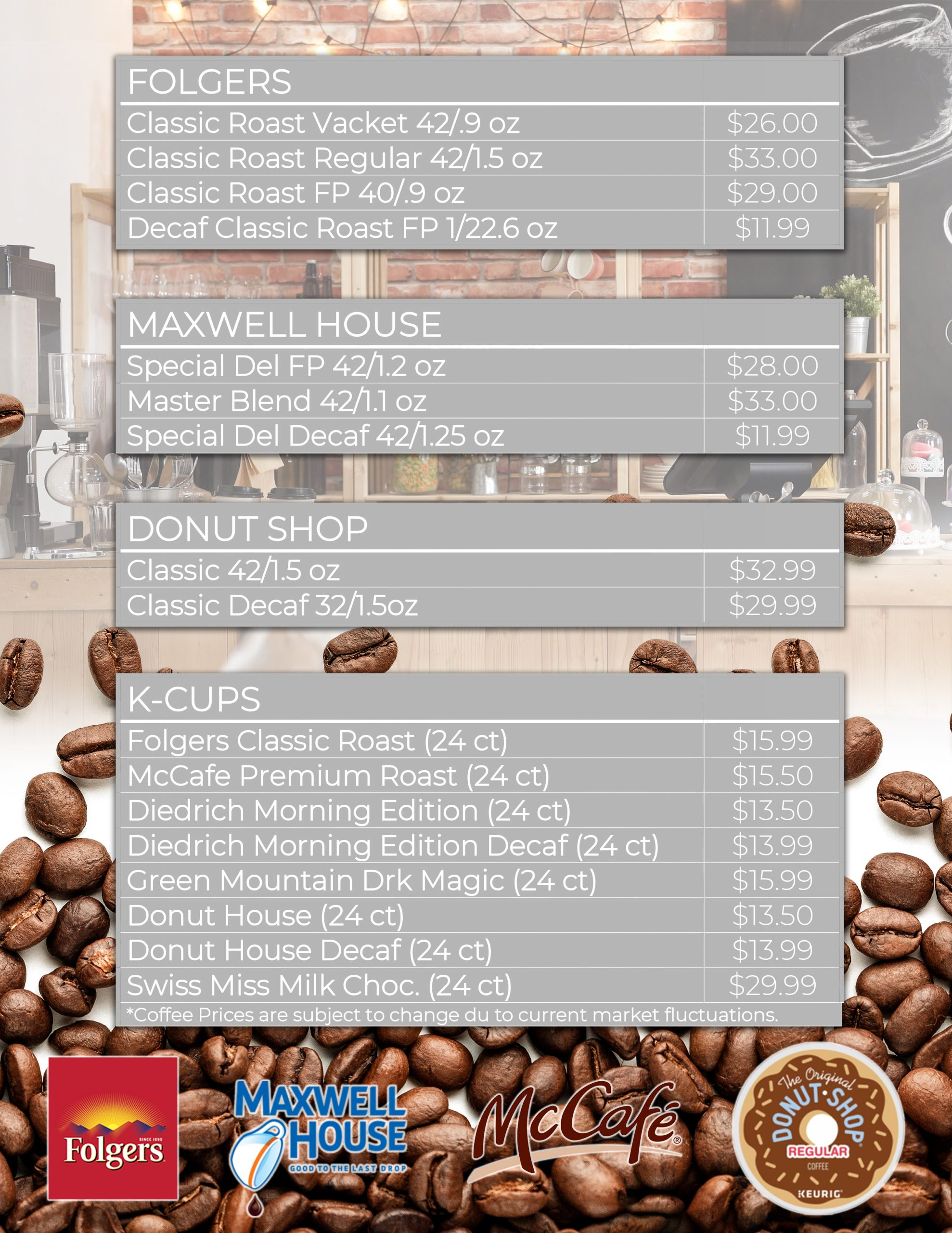 Coffee Delivery Catalog